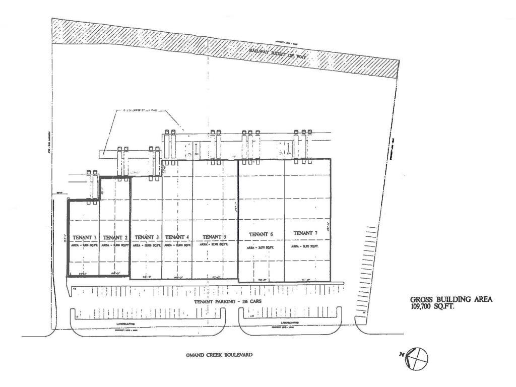 130 Omands Creek Site Plan